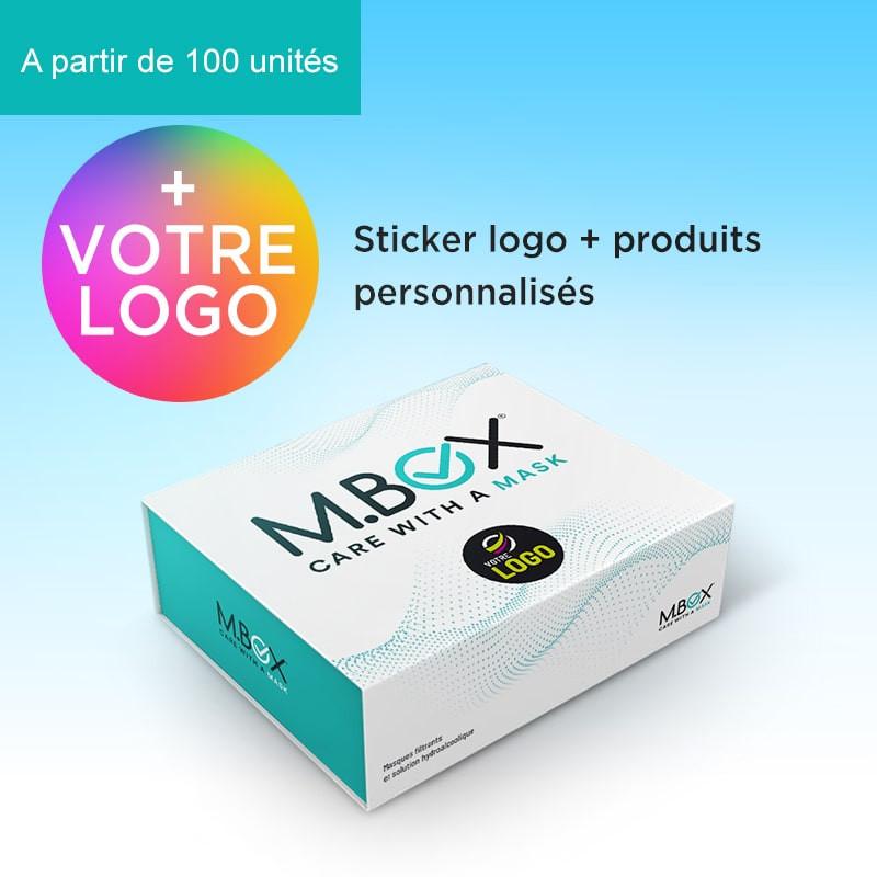 M.BOX stickers + produits personnalisés