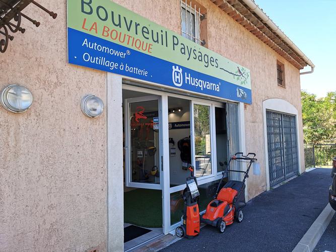 Bouvreuil Paysages, la boutique