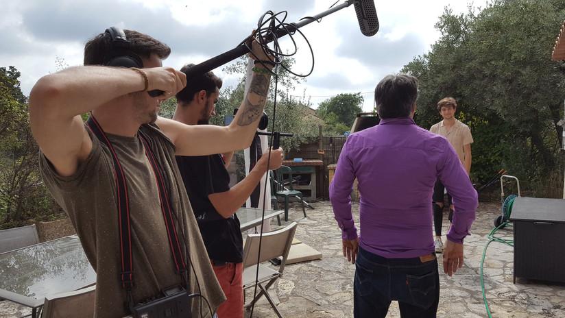 Le Grand Roque, tournage
