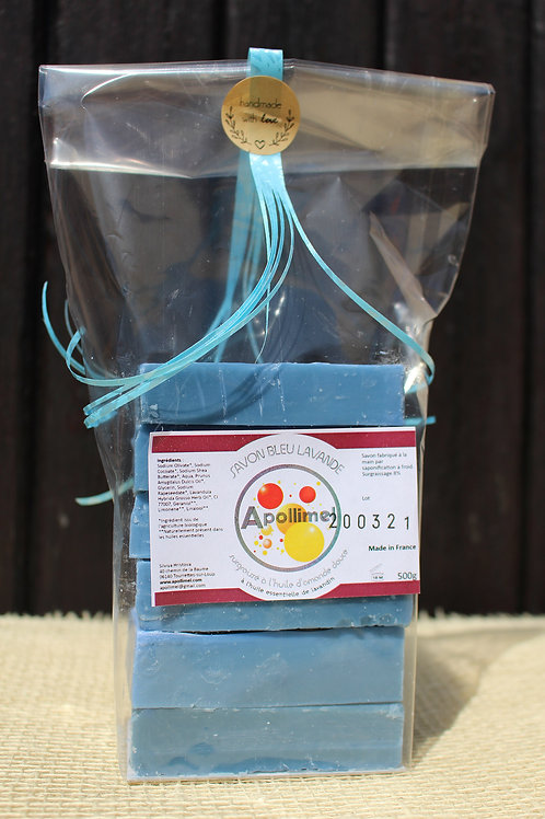 Sachet Crystal Savon Bleu lavande