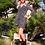 Thumbnail: Robe courte drapée Juliette