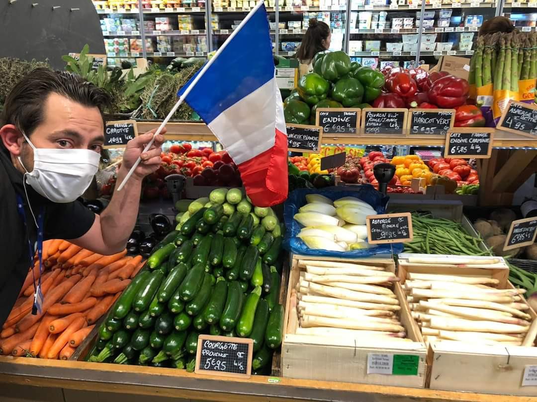 Fruits et légumes français