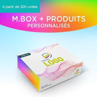 M.BOX personnalisée
