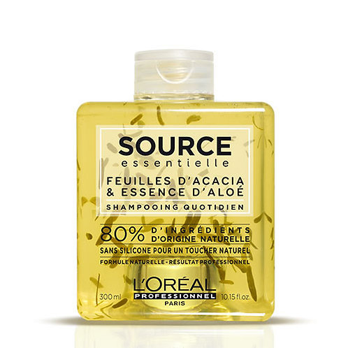 Shampooing Source Feuille d'Acacia et Essence d'Aloé Quotidien, 300ml