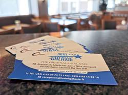 cartes Hotel Galaxie