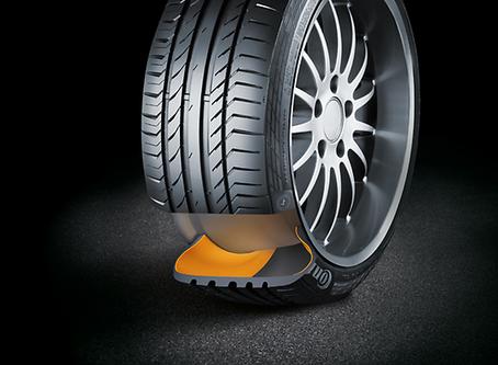 O que está por trás da qualidade dos pneus Run Flat da Continental?