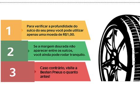 Profundidade dos sulcos do pneu: entenda por que cada milímetro conta