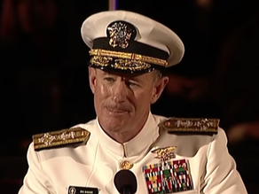 How to change the world- Admiral McRaven