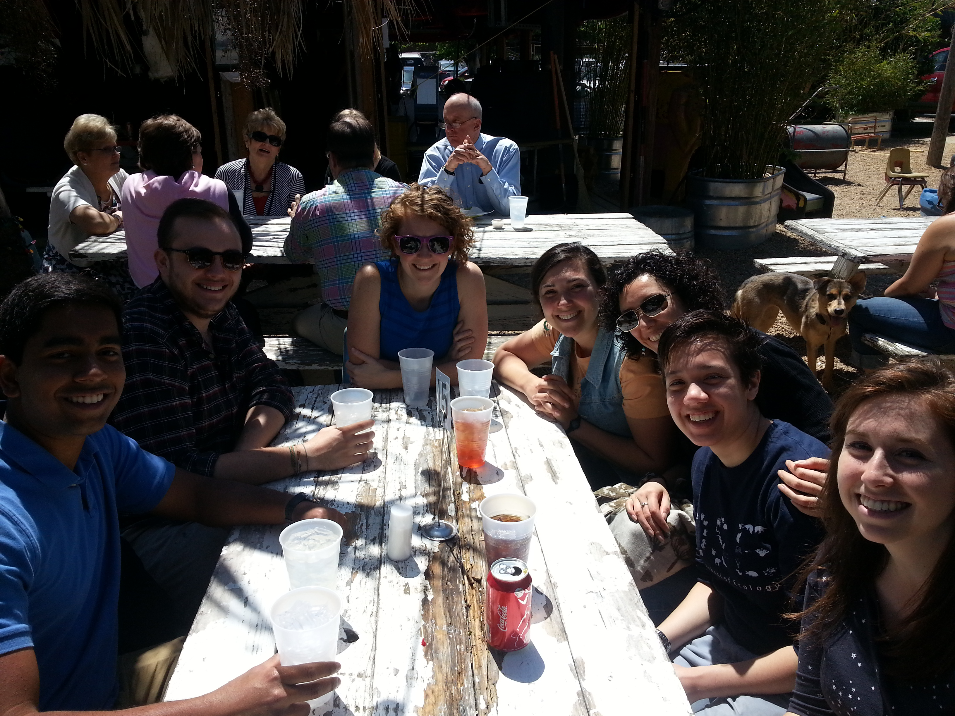 Lab Brunch at Cali N' Titos
