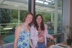 Alexa Fritzsche and Hayley Schroeder at Insectival 2015