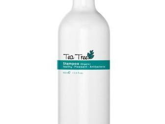 tea tree shampoo voor de gevoelige hoofdhuid 400ML