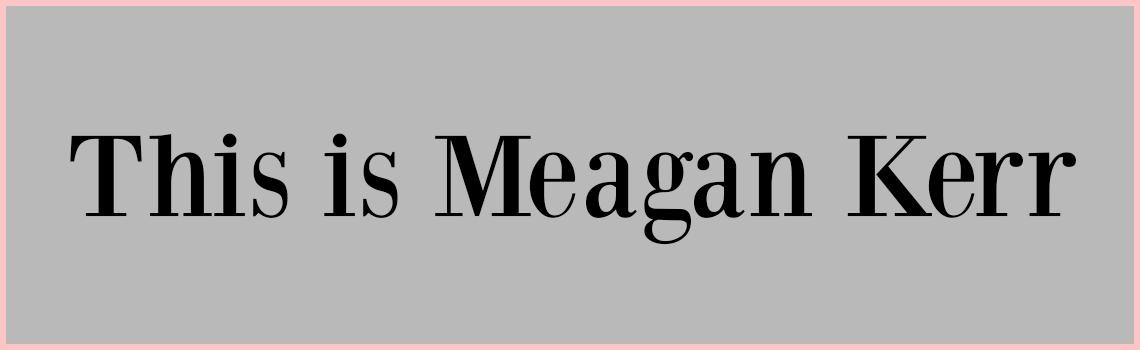 megan+kerr