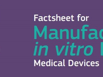 Get Ready EU IVDR: Factsheet & Step By Step Guide for Manufacturers of in vitro Diagnostic Medi