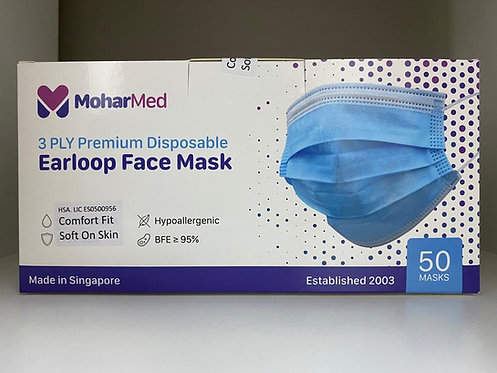 MoharMed Single-use Face Mask - Adult