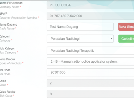 Indonesia MOH Go Digital to help Industry with Online Medical Device Classification / HS code, Digit