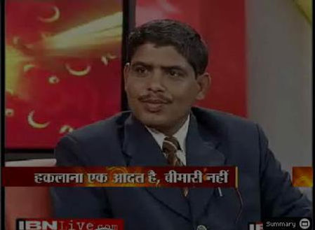 BK singh image on IBN7 interview