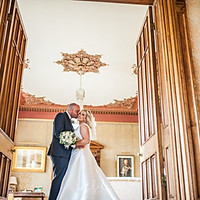 Mel and Rob at Stradey Castle