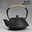 Thumbnail: Antique Cast Iron Tea Pot With Tea Strainer