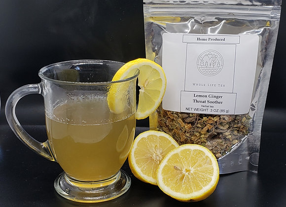 Lemon Ginger Throat Soother