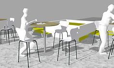 CADS_Patio_Chaises afrika +tables hautes