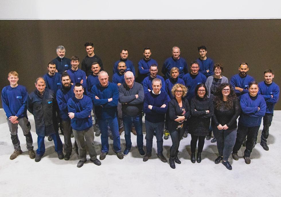 foto di gruppo team tpa