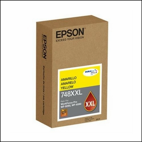 TINTA EPSON WF-6090 6590 YELLOW