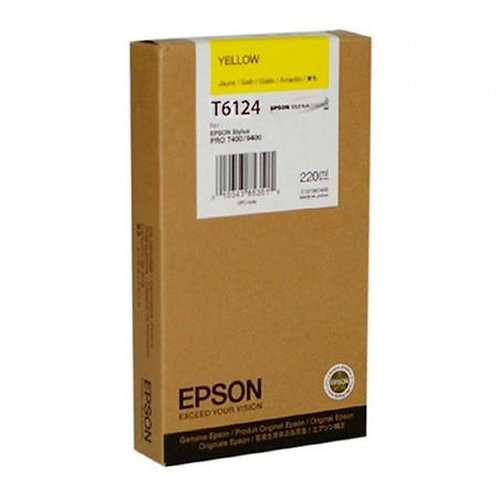 TINTA EPSON AMARILL 7450/9450 T612400