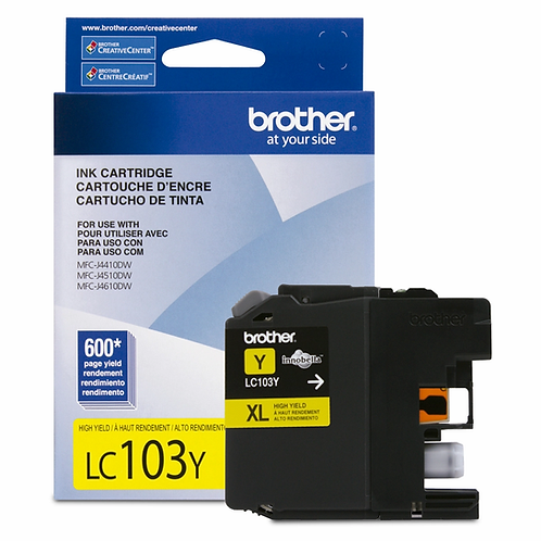 TINTA BROTHER 6720 LC103Y