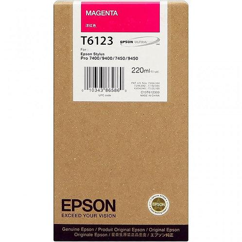 TINTA EPSON MAGENTA 7450/9450 T612300