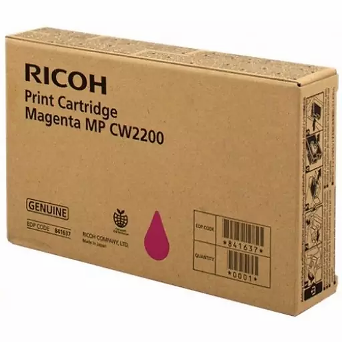 TONER RICOH MAGENTA MPC W2200 841722