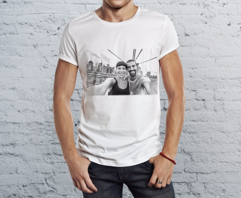 camiseta chico con tu fotos