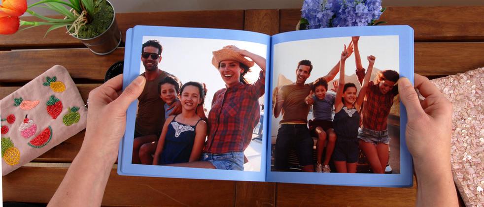 Album tapa flexible Foto Ricardo