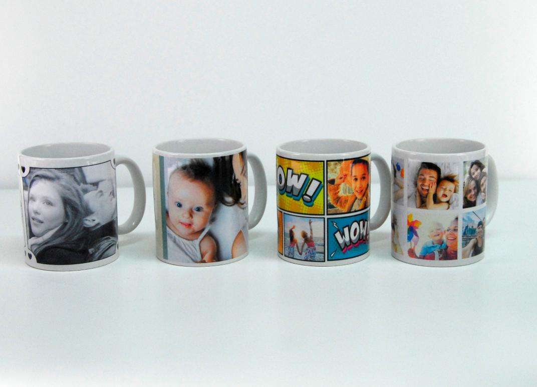 Tus fotos en una taza