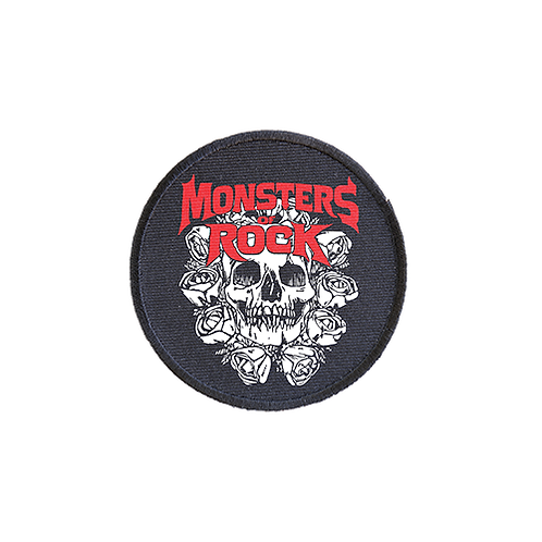 MONSTERS OF ROCK® - Circle Iron on Patch