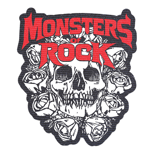 MONSTERS OF ROCK® - Die Cut Patch