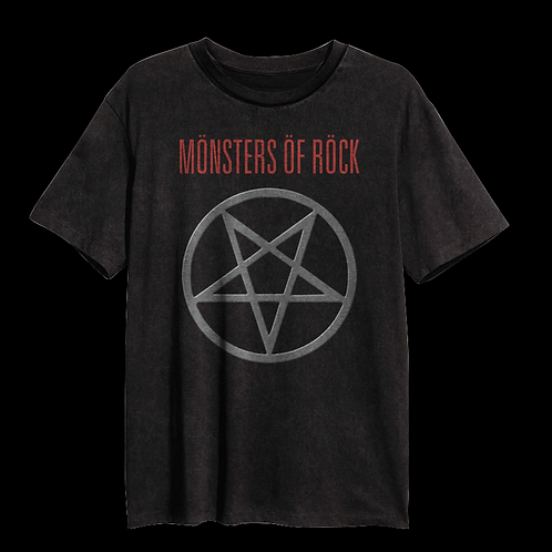 Vintage MONSTERS OF ROCK® Pentagram Tee