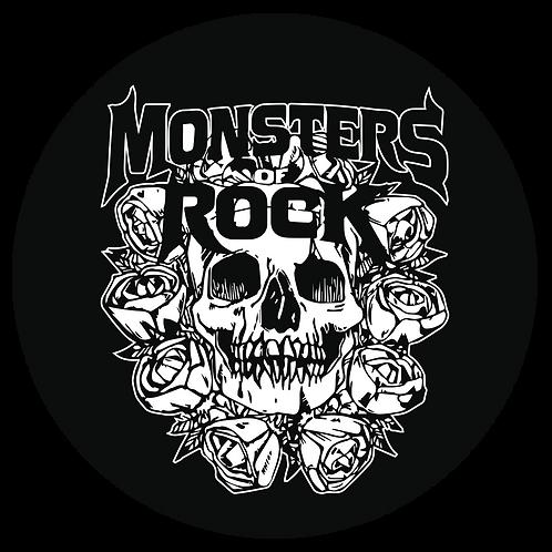 MONSTERS OF ROCK®  - Skull Circle Sticker