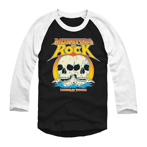 Twin Skulls – MONSTERS OF ROCK® 3/4 World Tour Shirt
