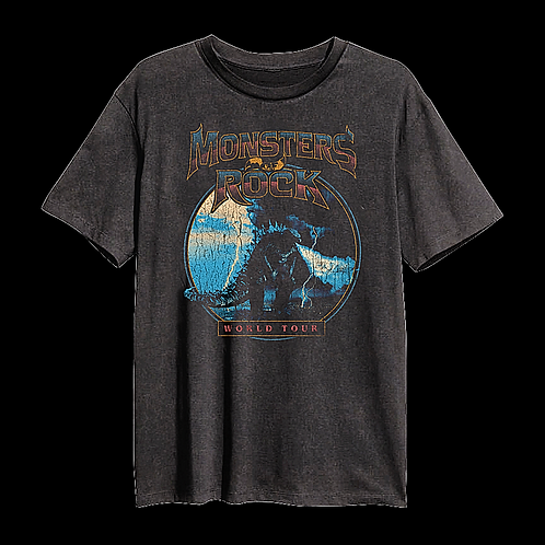 Vintage Godzilla MONSTERS OF ROCK® Tour Shirt