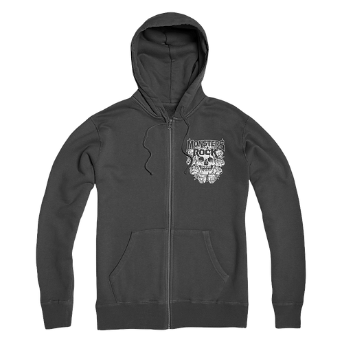 MONSTERS OF ROCK® Road Crew - Skull Hoodie
