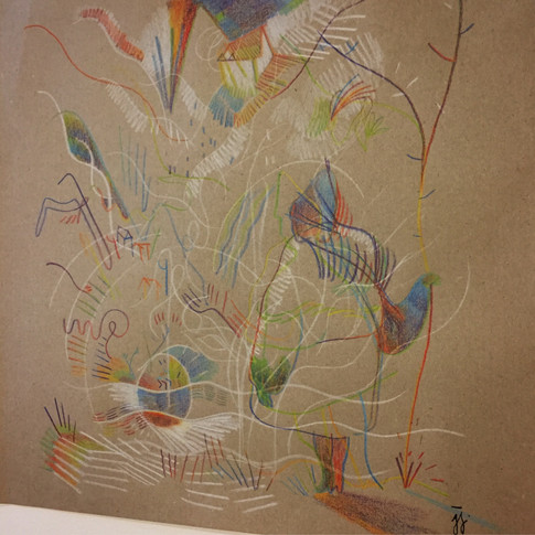 """Sound drawing of Stravinsky's """"The Firebird Suite"""""""