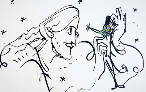 Joseph et sa marionette