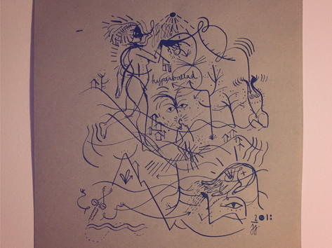 "Sound drawing of Björk's ""Hyperballad"""