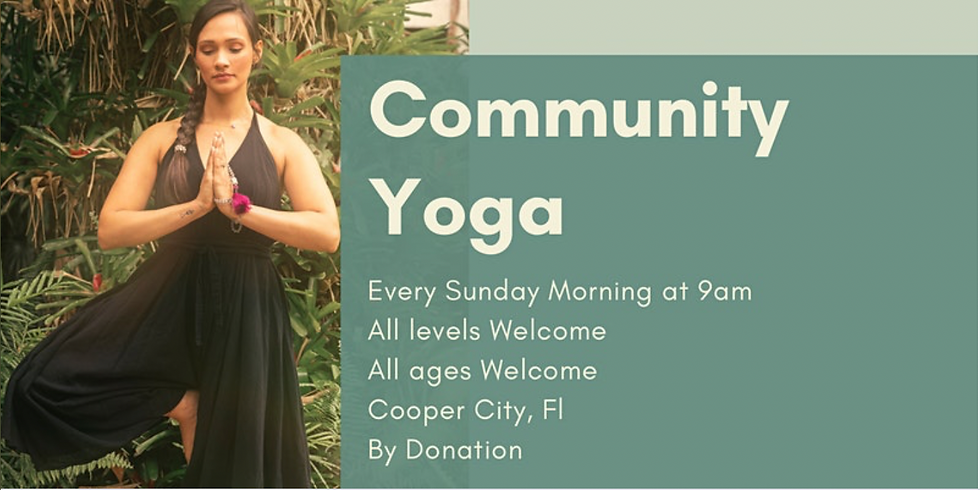 Community Yoga - All Levels and Ages