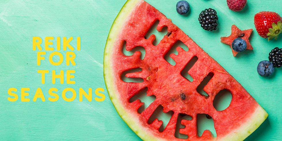 Reiki For The Seasons: Summer Edition