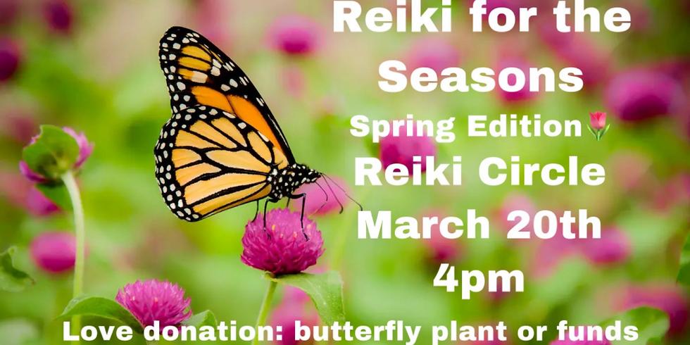 Reiki For The Seasons Spring