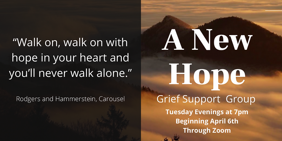 A New Hope: Grief Support Group
