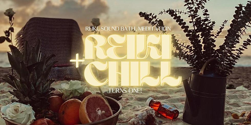 Reiki + Chill™ One Year Anniversary Spiritual Wellness Day