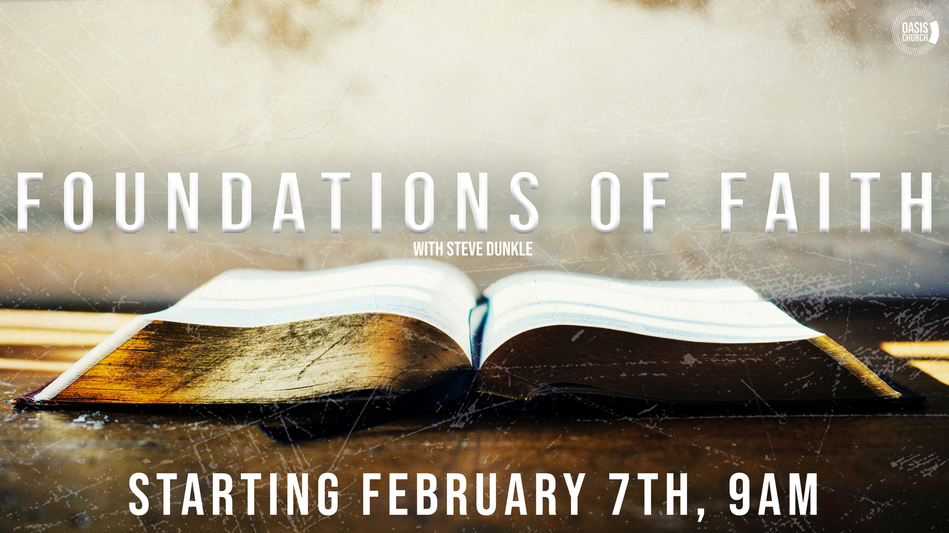 Foundations of Faith Class