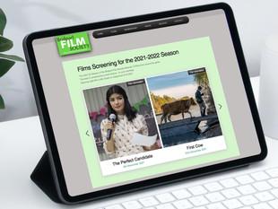 Bridport Film Society website image